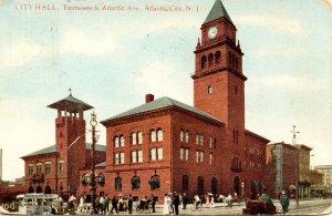 NJ - Atlantic City. City Hall at Tennessee & Atlantic Ave