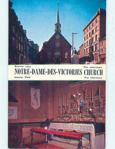 Unused Pre-1980 TOWN VIEW SCENE Quebec City QC p9175