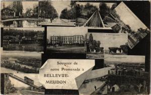 CPA BELLEVUE-Meudon Souvenir de notre Promenade (413589)