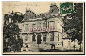 Old Postcard Bank Caisse d & # 39Epargne Vienna