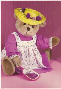 Handcrafted Teddy Bear by Karin Mandell and Howard Calvin