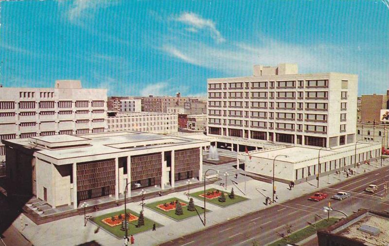 Civic Centre Complex, Council, Public Safety & Administration Building, Winni...