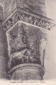 France St Aignan sur Cher Petite Nef Nord 2e pilier