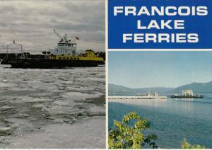 Ferry ships , Francois Lake , B.C. , Canada , 50-70s