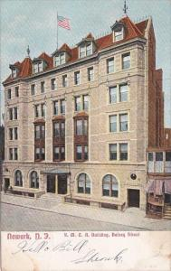 Y M C A Building Halsey Street Newark New Jersey 1907