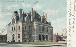 CONCORD, New Hampshire, 1906 ; Post Office