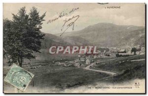Mont Dore - Panoramic View - Old Postcard