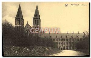 Old Postcard Maredsous Abbey