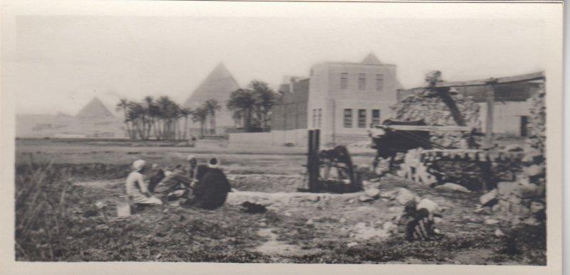 RP: EGYPT , 00-10s ; Cairo , Village near the Pyramids