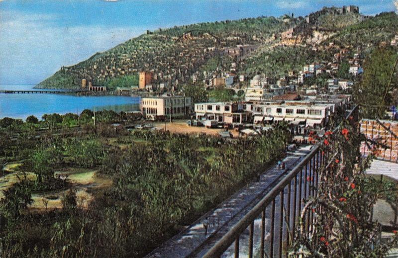 Postcard Alanya View of the City, Turkey C00