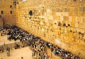 Western Wall JerUSA lem Israel Unused