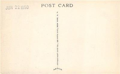 Sailing CAMP TEJAS Webster, TX Girl Scouts Harris County 1950 Vintage Postcard