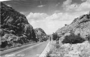 Auto Granite Dells Prescott Arizona 1949 RPPC Photo #C-349 Postcard 7501
