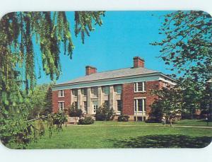 Unused Pre-1980 LIBRARY SCENE Albion Michigan MI hs1895