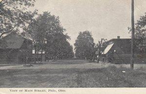 PHILO , Ohio , 1910 ; Main Street