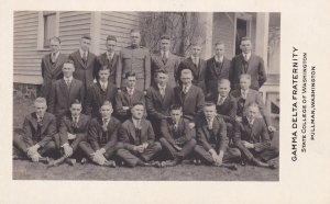 RP: Gamma Delta Fraternity Members, State College of Washington, Pullman, WA ...