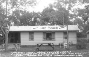 Theodosia Missouri~Bull Shoals Lake~Willhoit Cafe Home Cookin'~1950s RPPC