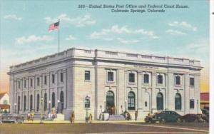 Colorado Colorado Springs Post Office and Federal Court HOuse