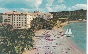 WAIKIKI BEACH , Hawaii , 1950-60s ; Moana Hotel