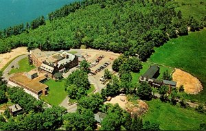 Massachusetts Gardner Aerial View Henry Heywood Memorial Hospital 1970