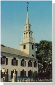 Beautiful Newport, Rhode Island/RI Postcard, Trinity Church