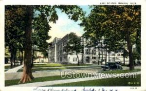 High School Monroe MI 1940