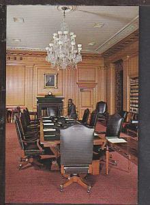 Conference Room Supreme Cour Washington DC Postcard BIN