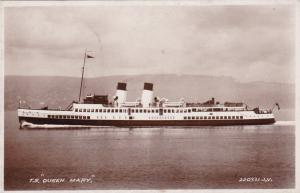 RP: T.S. QUEEN MARY , 1930s