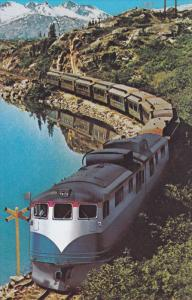 Train, Along the White Pass, GOAT ROCKS, Washington, 40-60´s
