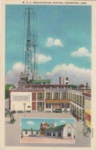 DAVENPORT , Iowa, 1930-40s ; W.O.C. Broadcasting station