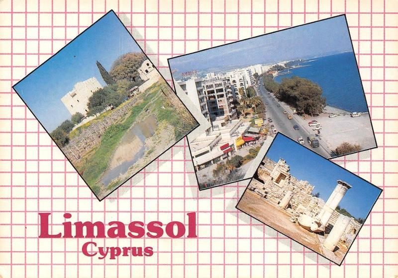 Cyprus Limassol multiviews General view Panorama