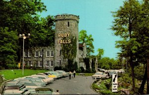 Tennessee Chattanooga Lookout Mountain Cavern Castle Entrance To Ruby Falls