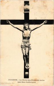 CPA  Avignon - Le Christ des Pénitente noirs (par Jean Guillermin)  (512276)
