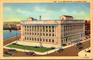 Ohio Columbus Post Office 1939 Curteich
