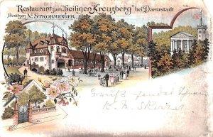 Restaurant zum Heiligen Kreuzberg Germany 1899
