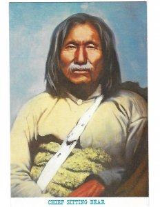 Chief Sitting Bear Satank Kiowa 1801-1871 4 by 6 card