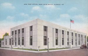 New Post Office, West Palm Beach, Florida, 30-40s