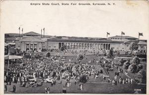 SYRACUSE, New York, 1900-1910's; Empire State Court, State Fair Grounds