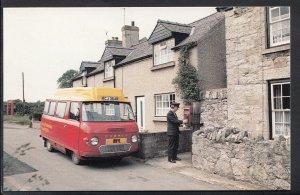 Wales Postcard - Rhyl - Meriadog Postbus at Groesffordd Mali Post Office  RS3926