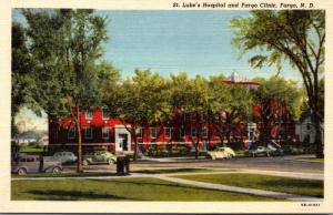 North Dakota Fargo St Luke's Hospital and Fargo Clinic Curteich