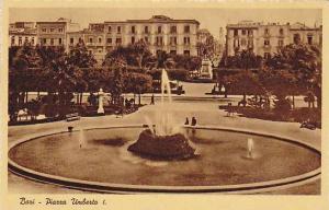 Bari , ITALY, 1910-30ss : Piazza Umberto I