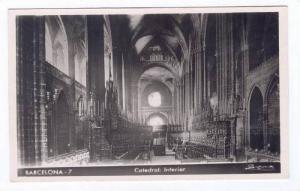 RP, Catedral: Interior, Barcelona (Catalonia), Spain, 1920-1940s