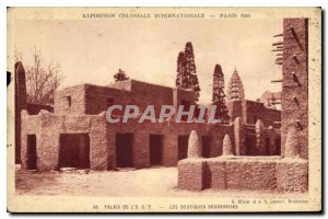 Old Postcard Exposition Coloniale Internationale Paris 1931 Palace LAOF Bouti...