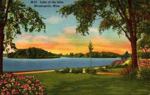 Minnesota Minneapolis Lake Of The Isles  Curteich