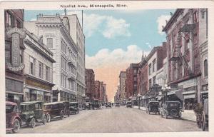 MINNEAPOLIS , Minnesota , 00-10s ; Nicollet Avenue