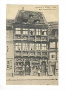 Wernigerode , Germany, Altes holzgeschnitztes Haus, Germany, 00-10s