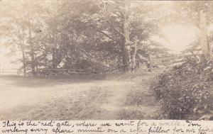 ASHFIELD, Massachusetts, 1901-07; Country side Red Gate