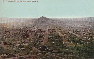 Vintage Postcard Pre-1915 General View of Goldfield Nevada - Ed Mitchell Pub