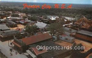 Route 66 Post card Oklahoma City, OK, USA Frontier City