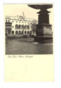 RP; Lima, Peru, 1910-30s ; Palacio Municipal